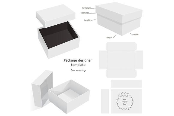 Box Mockups Collection