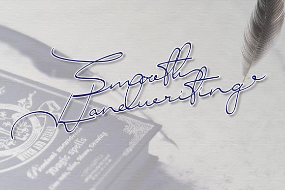 Smooth Handwriting Typeface