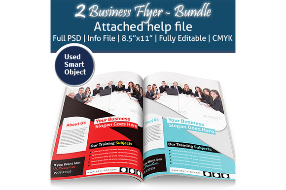 2 Business Flyers Bundle