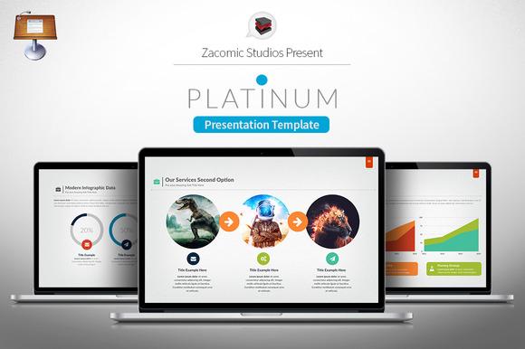 Platinum Keynote Template