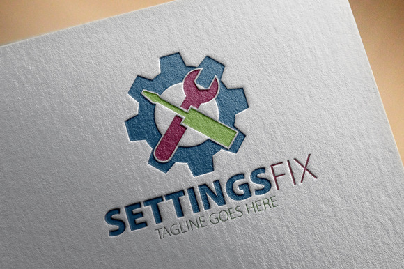 Settings Fix Logo