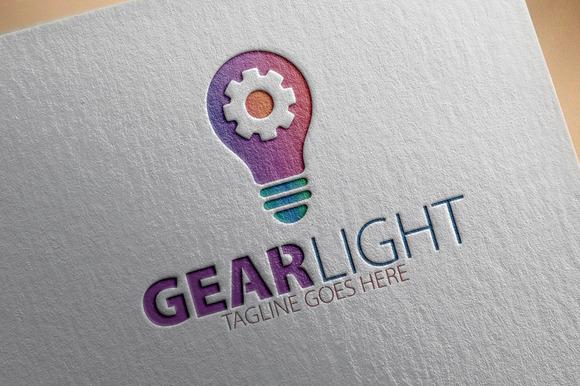 Gear Light Logo