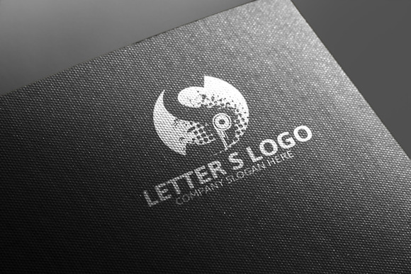 S Letter Logo Template 50% Discou