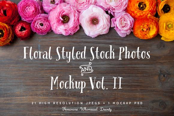 Floral Styled Photo Bundle Vol II