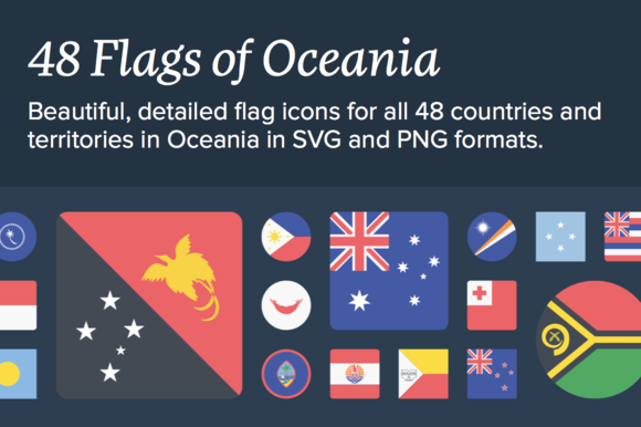 The Flags Of Oceania