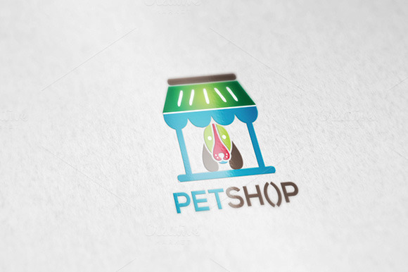 Pet Petshop Logo Template