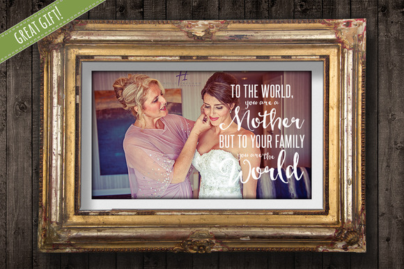 Mother Quote Overlay For Photos PNG