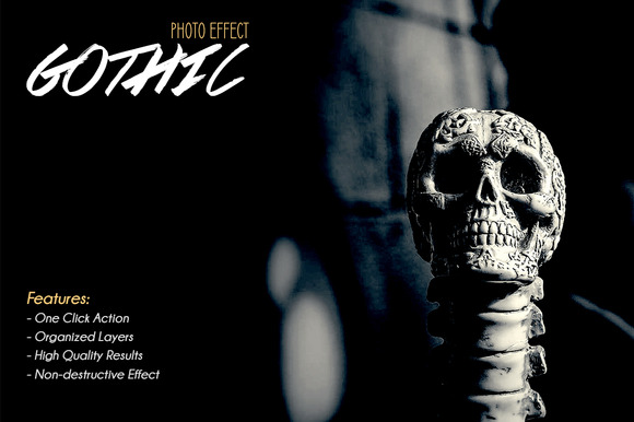 Gothic Photo Effect