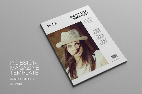 Blaite Magazine Template