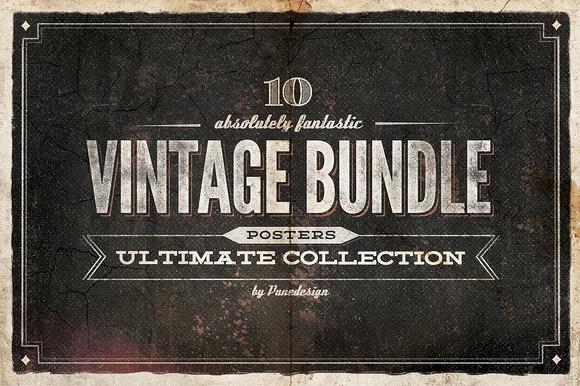 10 Ultimate Vintage Posters Bundle