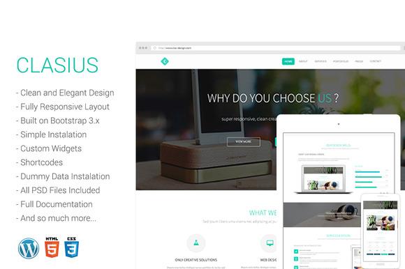 Clasius Creative Agency Wordpress