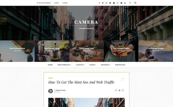 Noto Blogging WordPress Theme