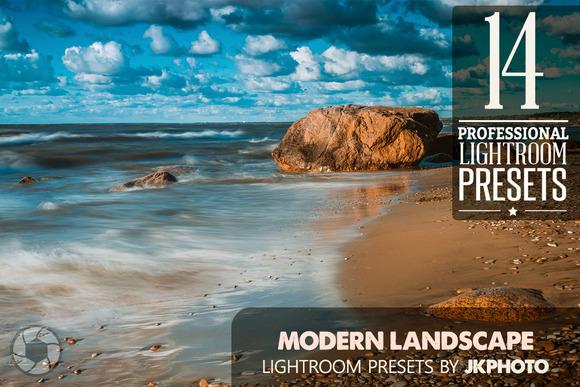 14 Modern Landscape Lightroom Preset