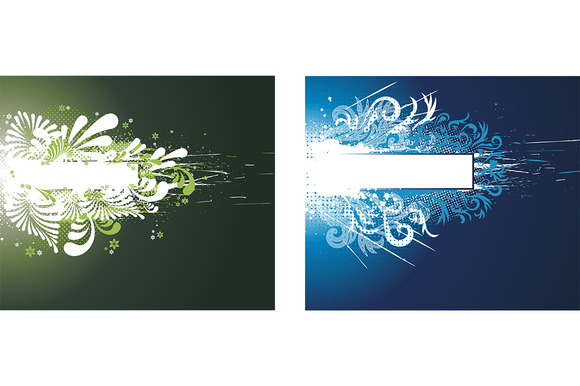 Floral Abstraction Frame Cover