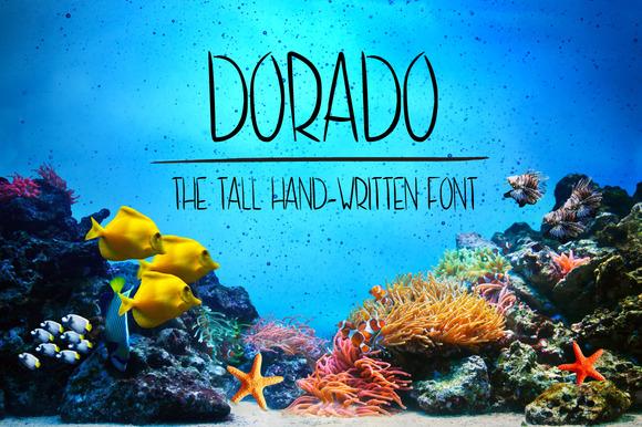 Dorado Hand-written Font