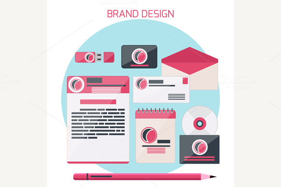 Set Of Brand Design Concepts