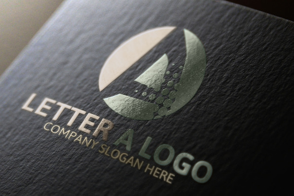 A Letter Logo 40% Discount