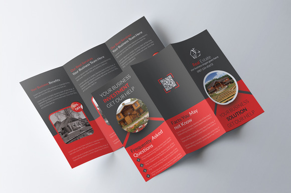 Tri Fold Real Estate Brochure