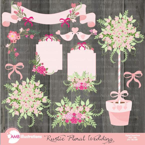 Rustic Floral Wedding 859