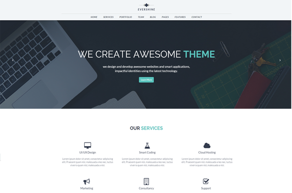 Evershine Multipurpose HTML5 Templa