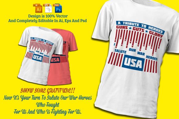 Soldiers Tribute War Hero T-Shirt