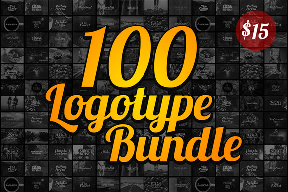 100 Logotype Bundle