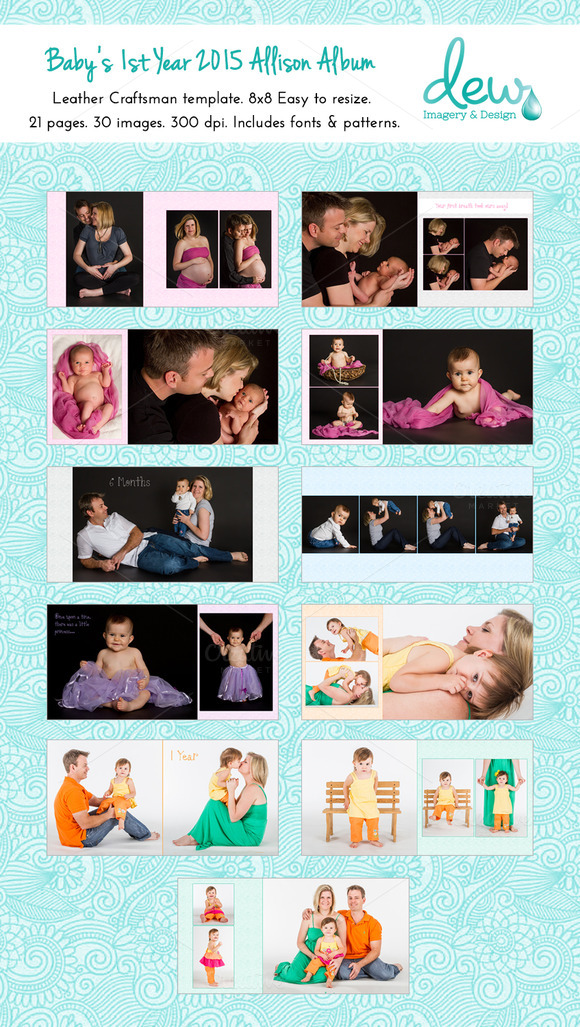 Baby S 1st Year 2015 Allison Album