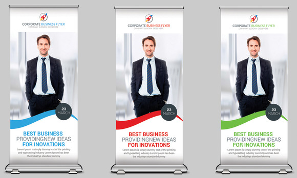 Business Roll Up Banners Template