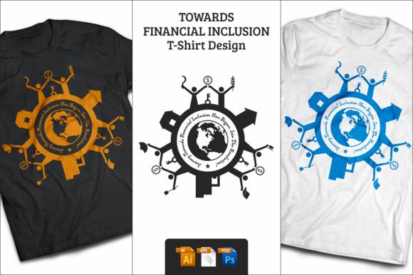 Financial Inclusion T-Shirt Design