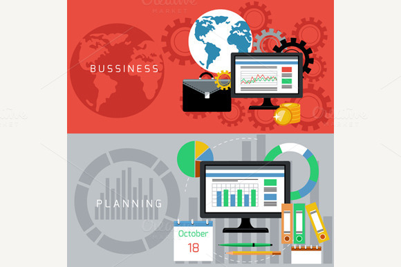 Business And Planning Cards