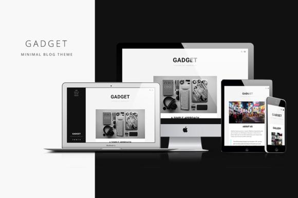 Gadget Minimal Blog Theme