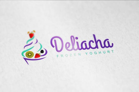 Yoghurt Logo Template