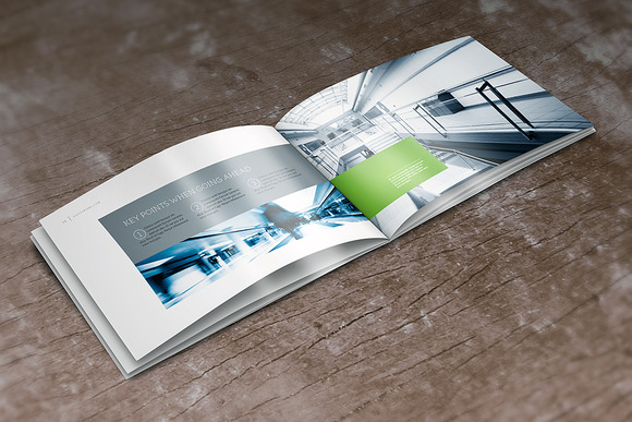 Horizontal A4 Brochure Mock-up
