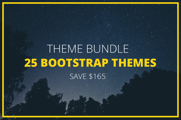 Theme Bundle 25 Bootstrap Themes
