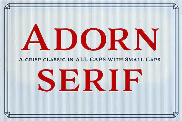 Adorn Serif Smooth