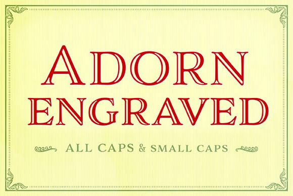 Adorn Engraved Smooth