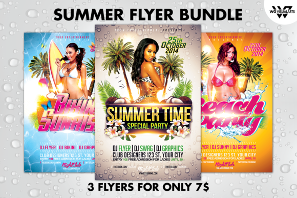SUMMER Flyer Bundle