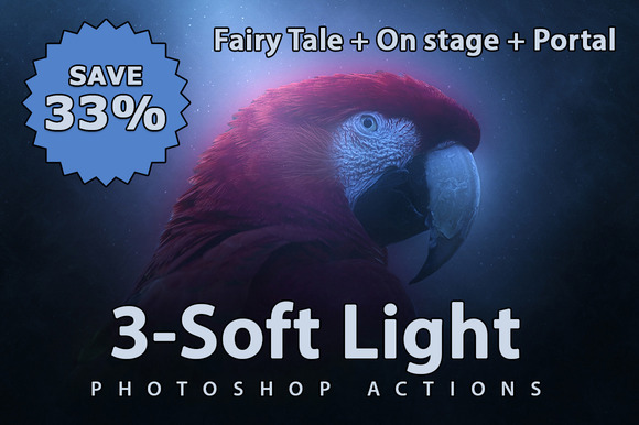 3- Soft Light Photoshop Actions