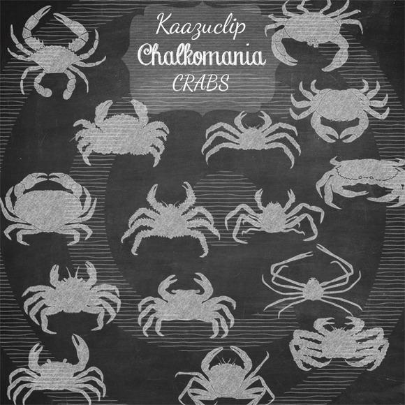 Chalk Crabs