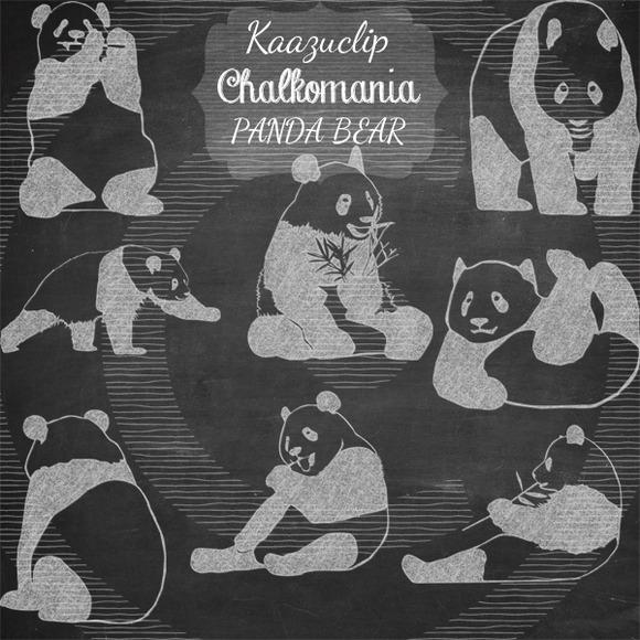 Chalk Panda