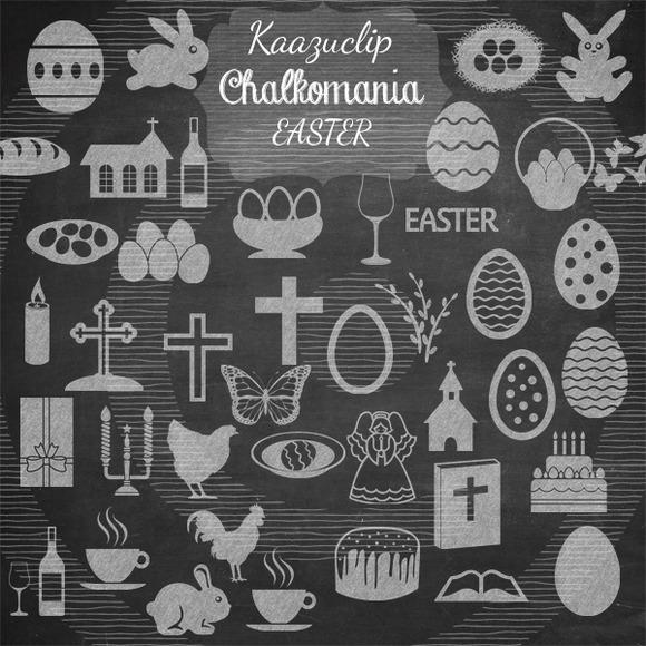 Chalk Easter