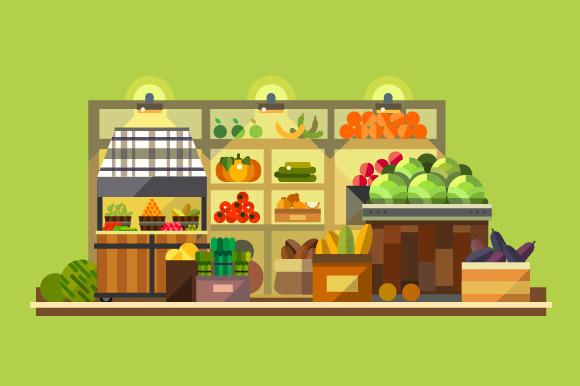 Shop Interior Organic Food