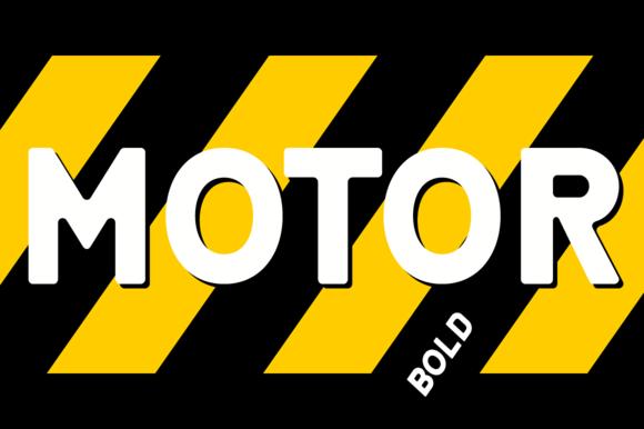 Motor 4F Bold