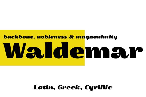 Waldemar 4F Black
