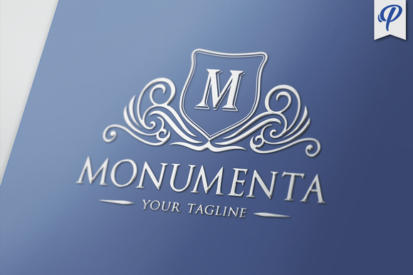Monumenta Crest Logo Template
