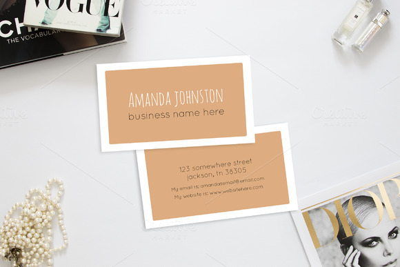Classy Chic 3.5 X 2 Business Card