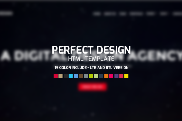 Perfect Design OnePage HTML Template
