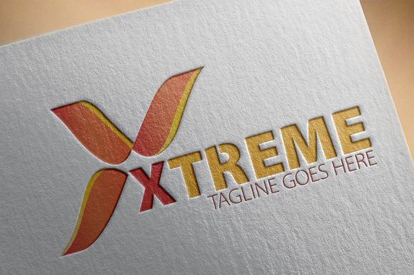 Xtreme X Letter Logo