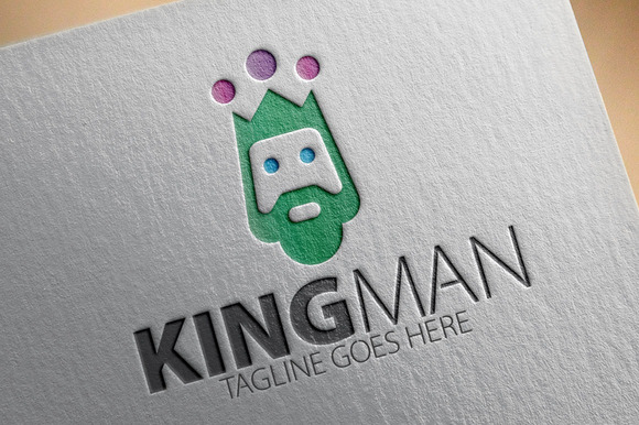 King Man Logo