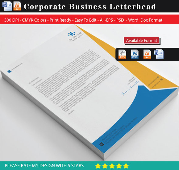 Corporate Best Solution Letterhed